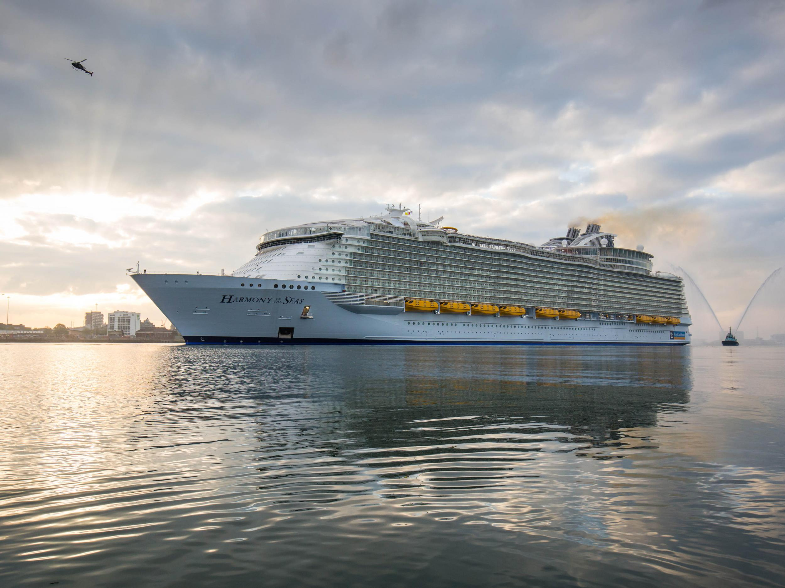 Harmony Of The Seas Stepping On Board The Worlds Largest Cruise - Royal caribbean cruise to nowhere