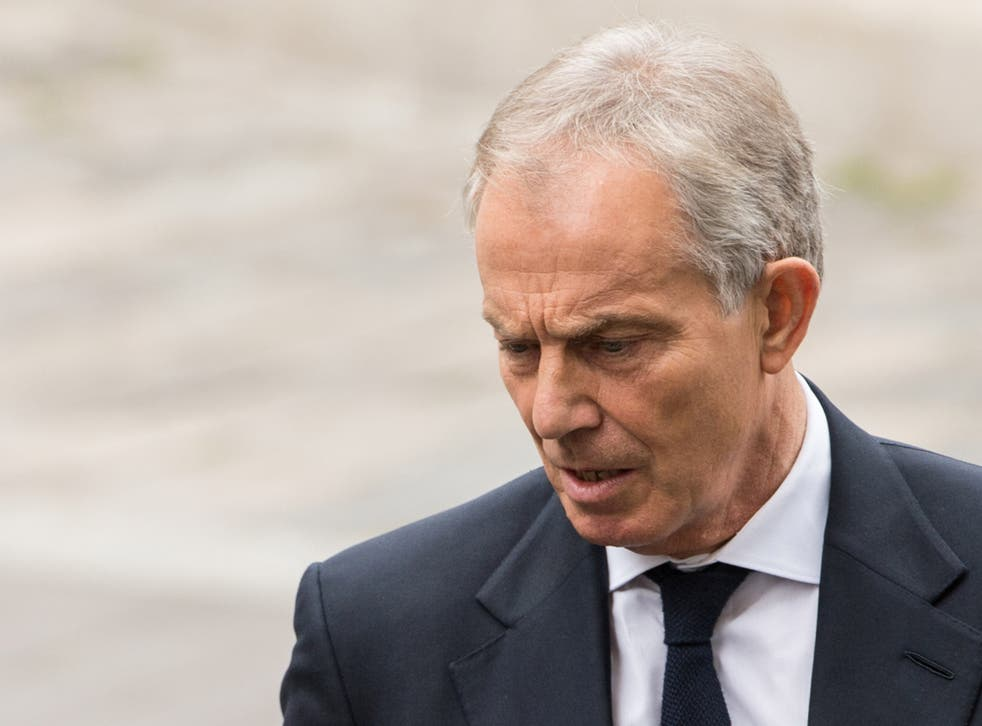 Mr Blair will already be aware of the criticism levelled at him