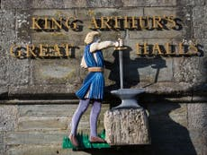 Schoolgirl discovers mystery sword in same lake King