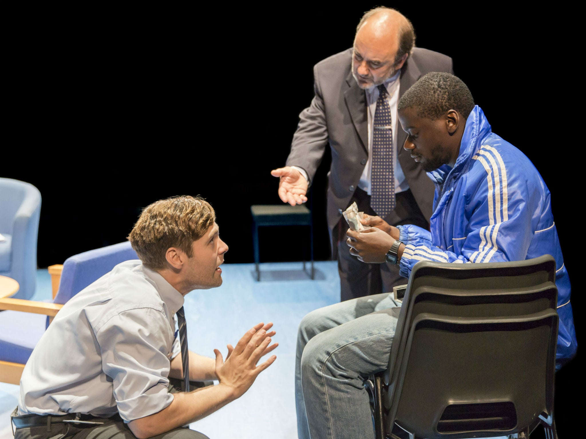 Blue Orange Young Vic Theatre Review Joe Penhall S Play