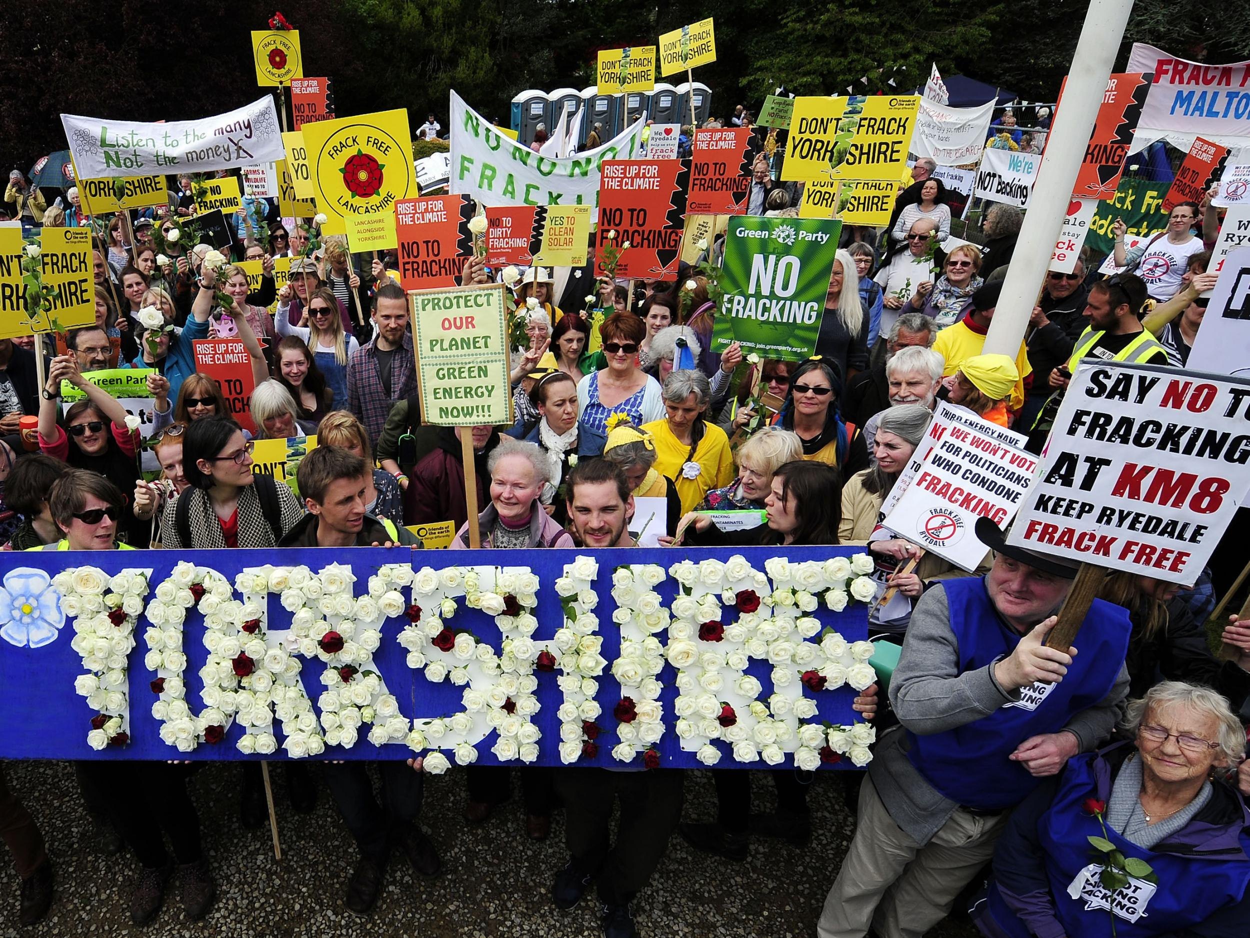 Ministers suppressed damaging fracking report until after crucial vo…