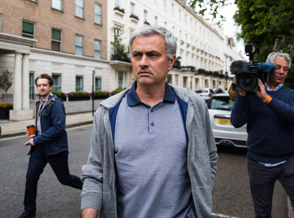 Mourinho's name and signature were both registered as trademarks by his former club