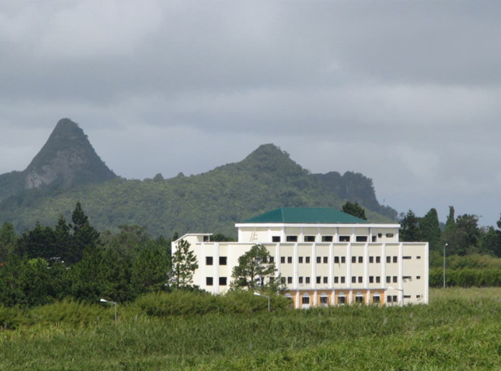 The campus, near Port Louis, opened to students this academic year