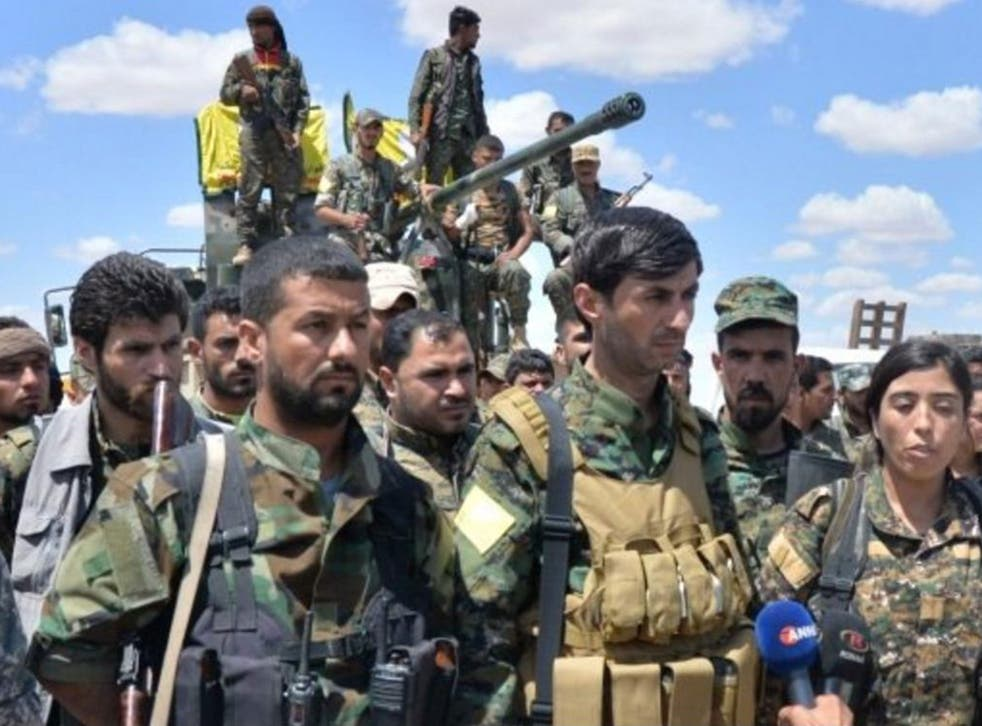 The Syrian Democratic Forces are an alliance of Kurdish, Arab, Turkmen and other rebels