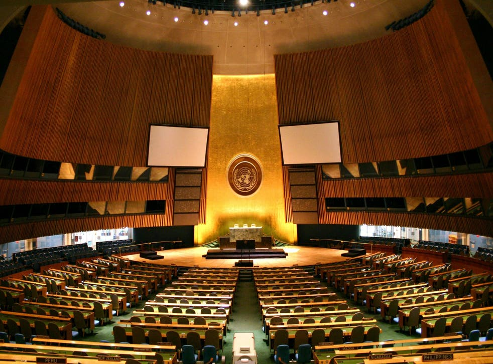 The UN General Assembly has been screening applicants