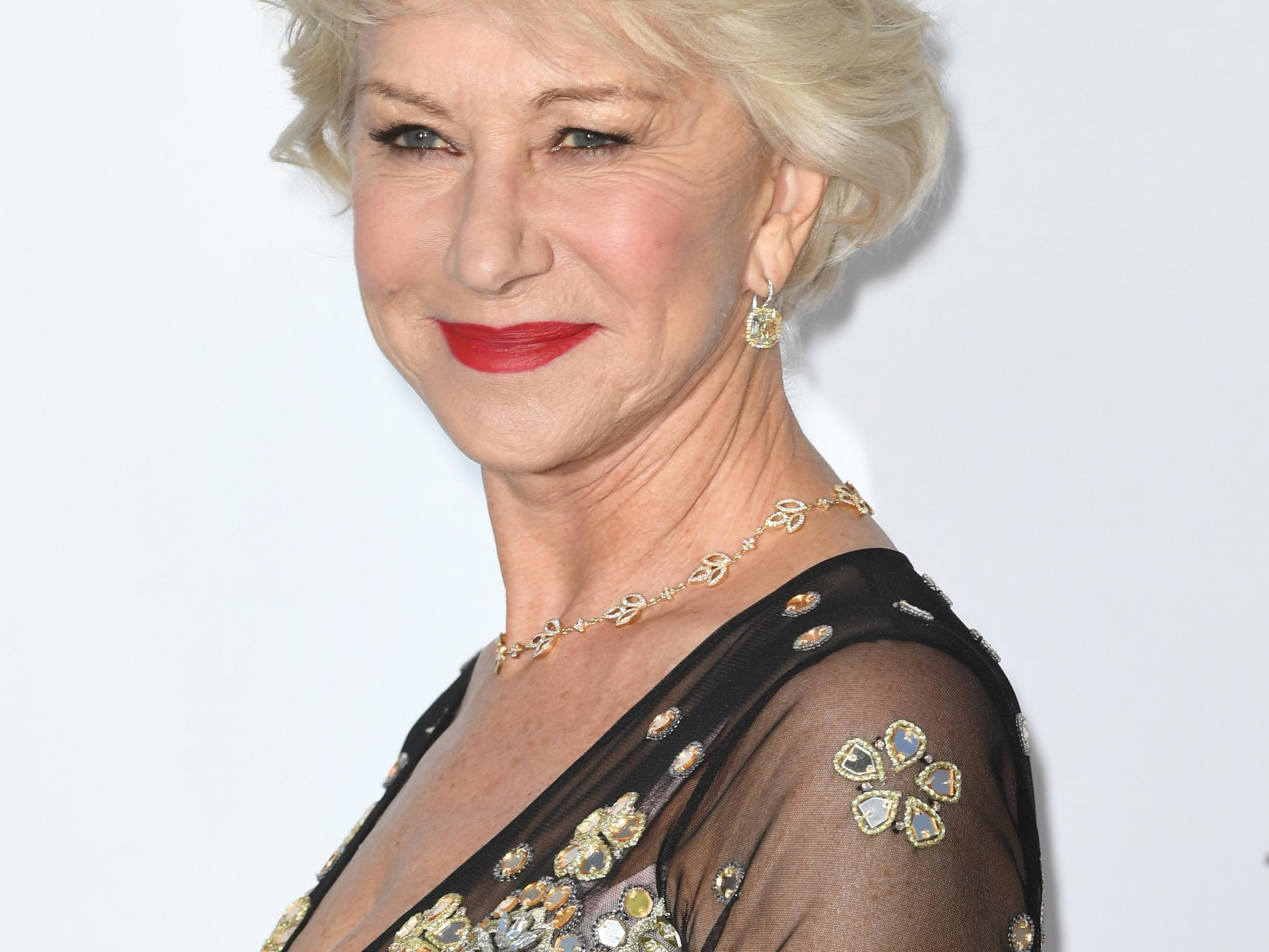 L'Oreal ambassador Helen Mirren says moisturiser probably does 'f*** all'
