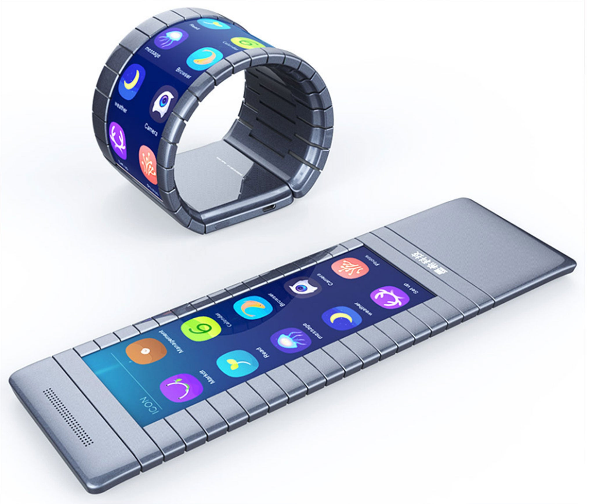 New Home Technology: World's First Bendable Smartphone Set To Be Launched This