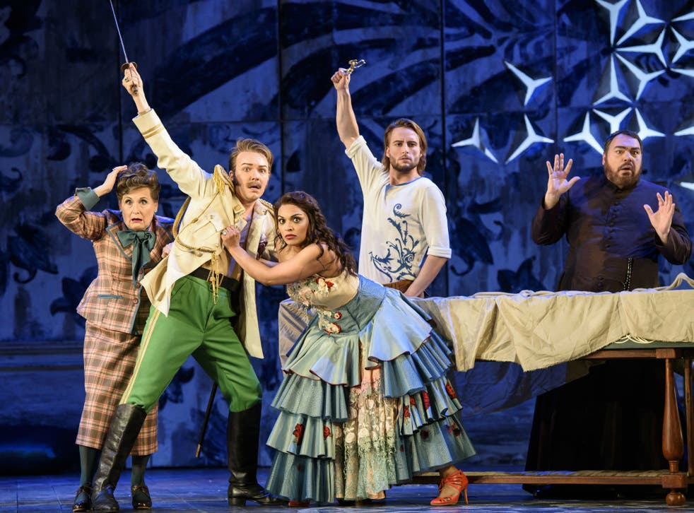Arden pulls off trick after trick with speed and deftness in a triumphant celebration of Rossini's musical genius