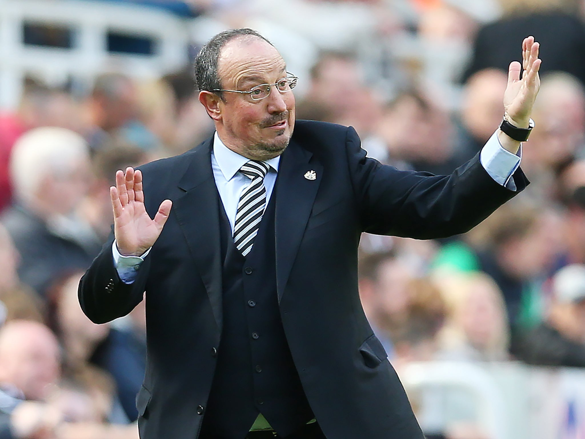 how benitez was persuaded to stay with newcastle
