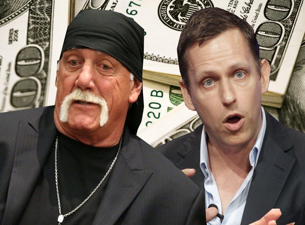 Peter Thiel is reportedly funding Hulk Hogan's lawsuit against Gawker Media.
