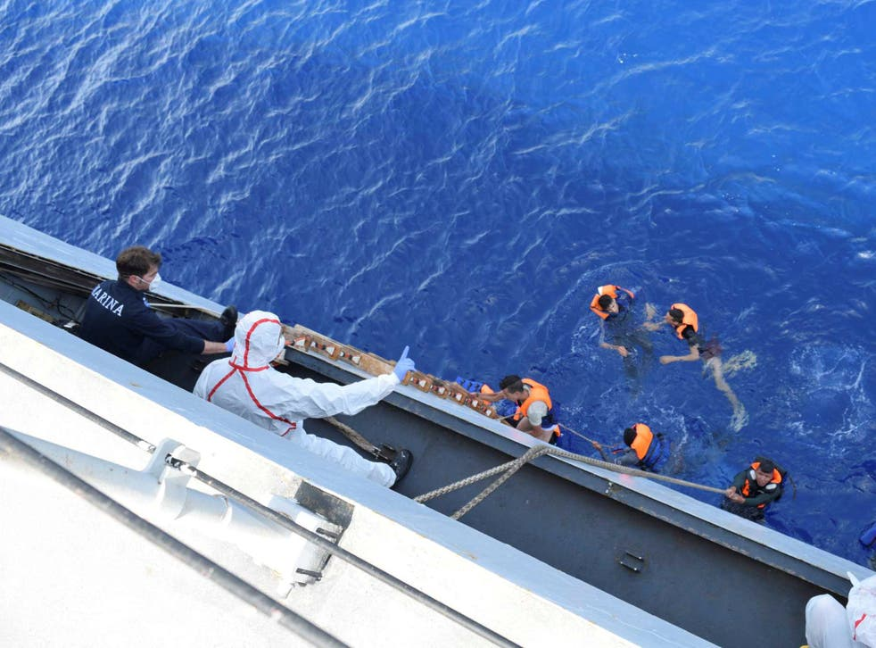 The EU's operation to stop limit illegal immigration has become a rescue mission