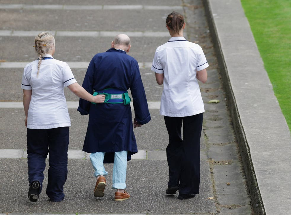 The number of people aged 65 or over in England not receiving the social care they need is up by 48 per cent since 2010, Age UK says