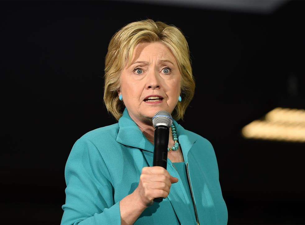 Ms Clinton called for international support to cut off terrorist networks and pinpointed oil-related countries
