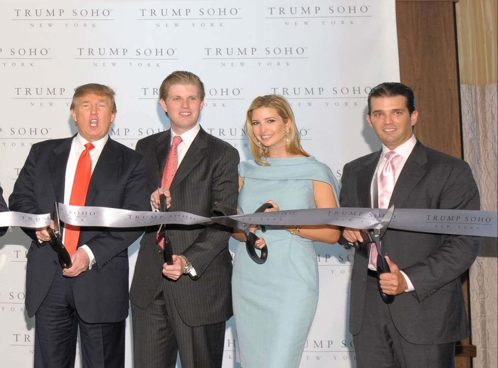 The Trump name has driven a restaurant in the Trump SoHo hotel out of business
