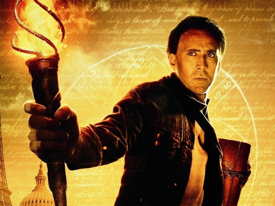 Nicolas Cage says National Treasure 3 script held up because 'fact checking'