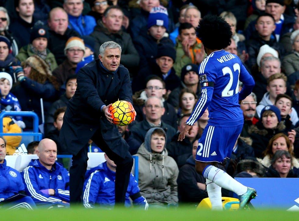 Jose Mourinho could target Chelsea midfielder Willian for Manchester United