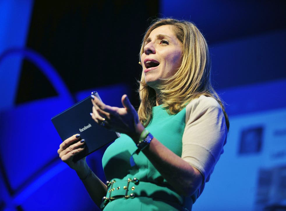Nicola Mendelsohn, VP EMEA at Facebook, says the company wants to to help more women turn their ideas into businesses