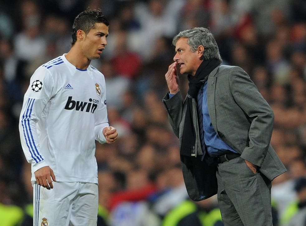 Mourinho and Ronaldo did not always see eye-to-eye at the Bernabeu