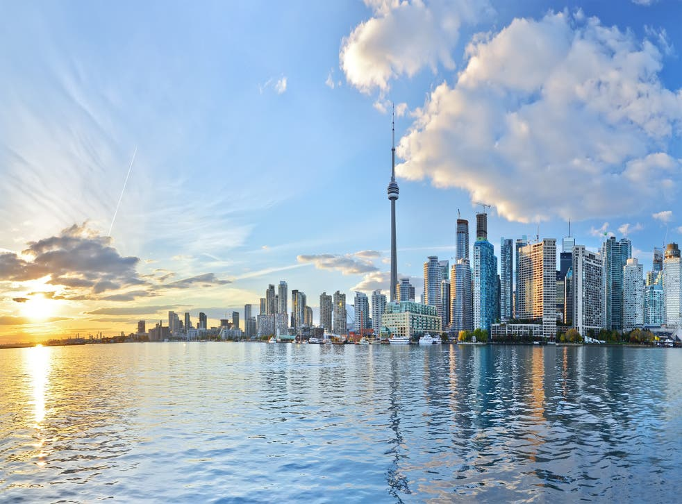 The Toronto skyline (Shutterstock)