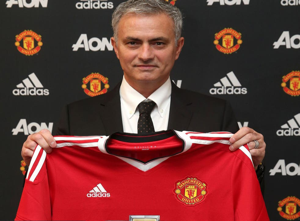 Jose Mourinho has been named Manchester United manager