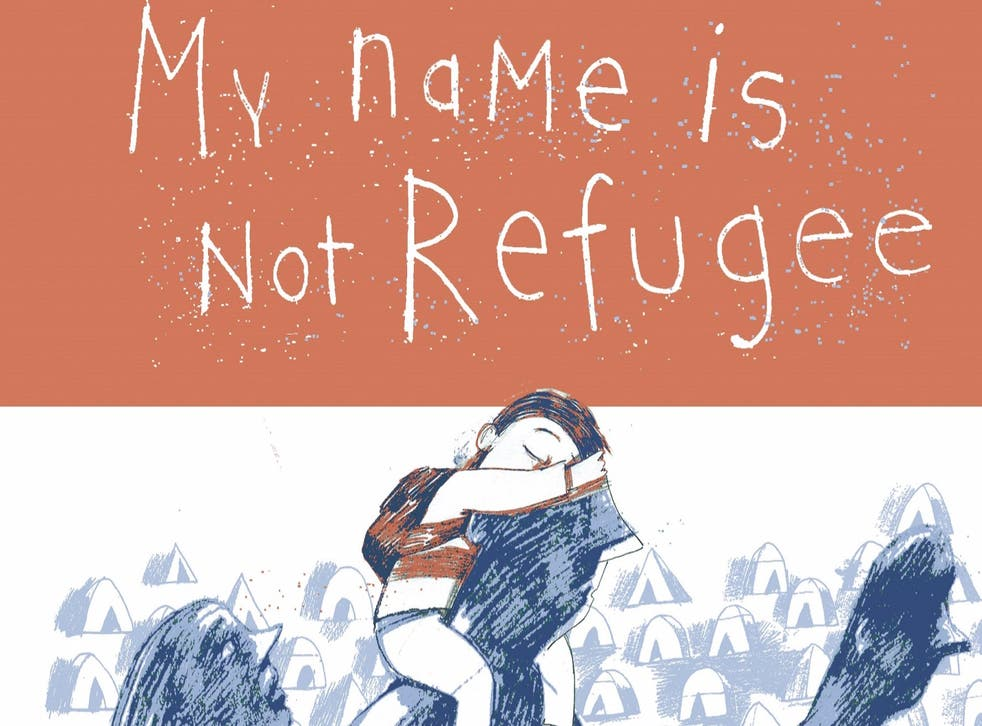 The cover of the award-winning book, pictured, which aims to get young children throughout Europe to think about the refugee crisis