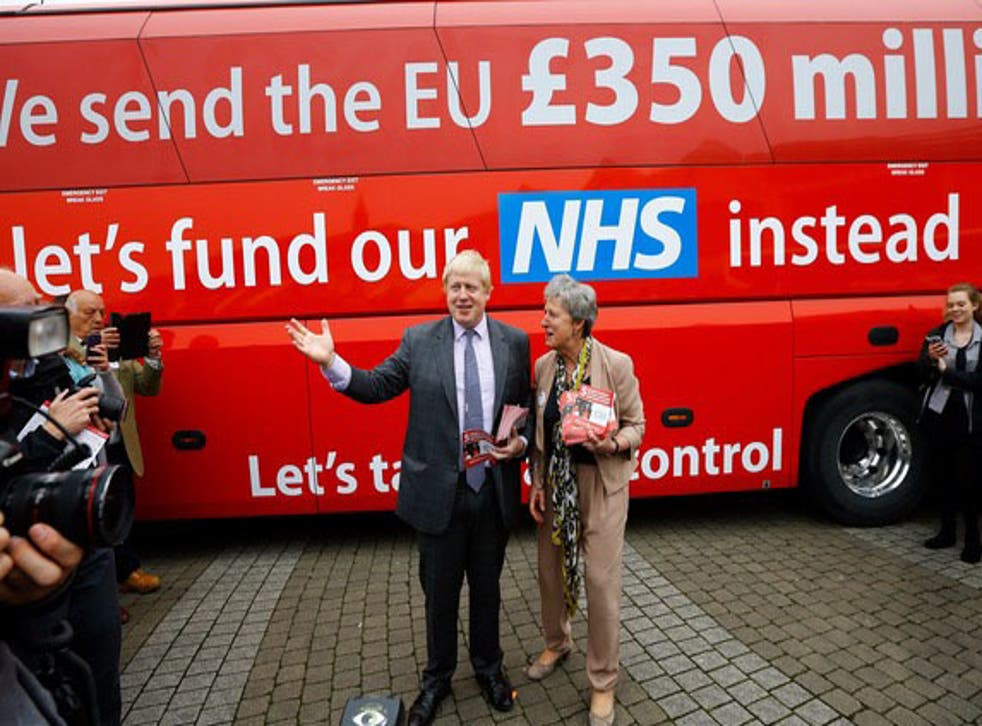 Boris Johnson has ignored the ruling and continues to publicise the £350 million figure