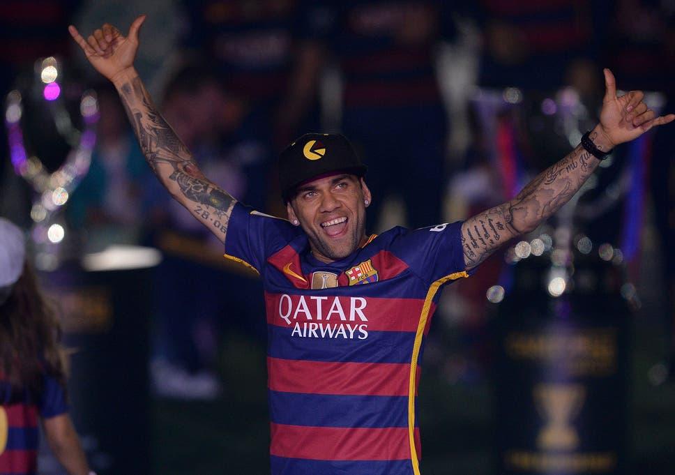 69a8731936 Dani Alves  Barcelona full-back posts heartfelt farewell message to ...