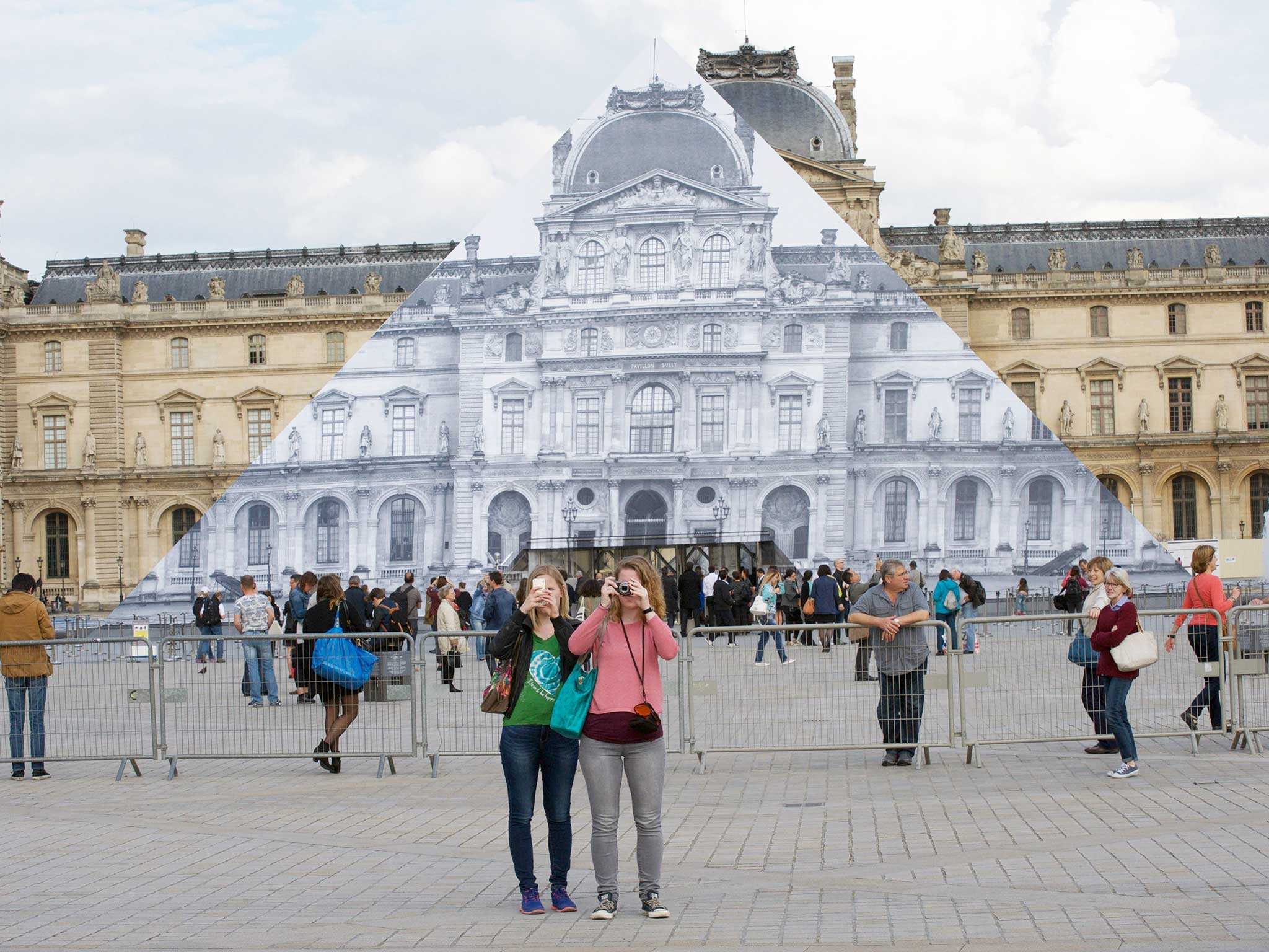 The street artist who made the Louvre pyramid disappear | The Independentindependent_brand_ident_LOGOUntitled