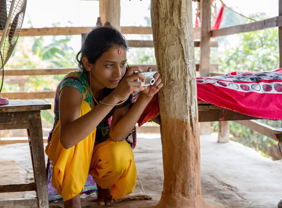 The girls in Sindhuli had never used cameras before, but that didn't stop them capturing life in isolation