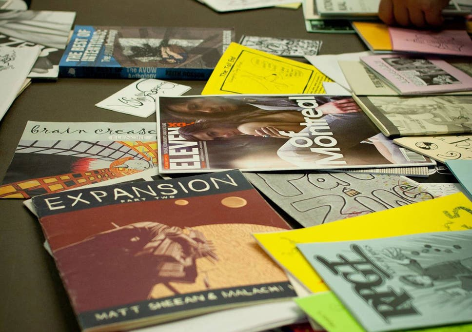Zines: How the internet helped a printed outlet for