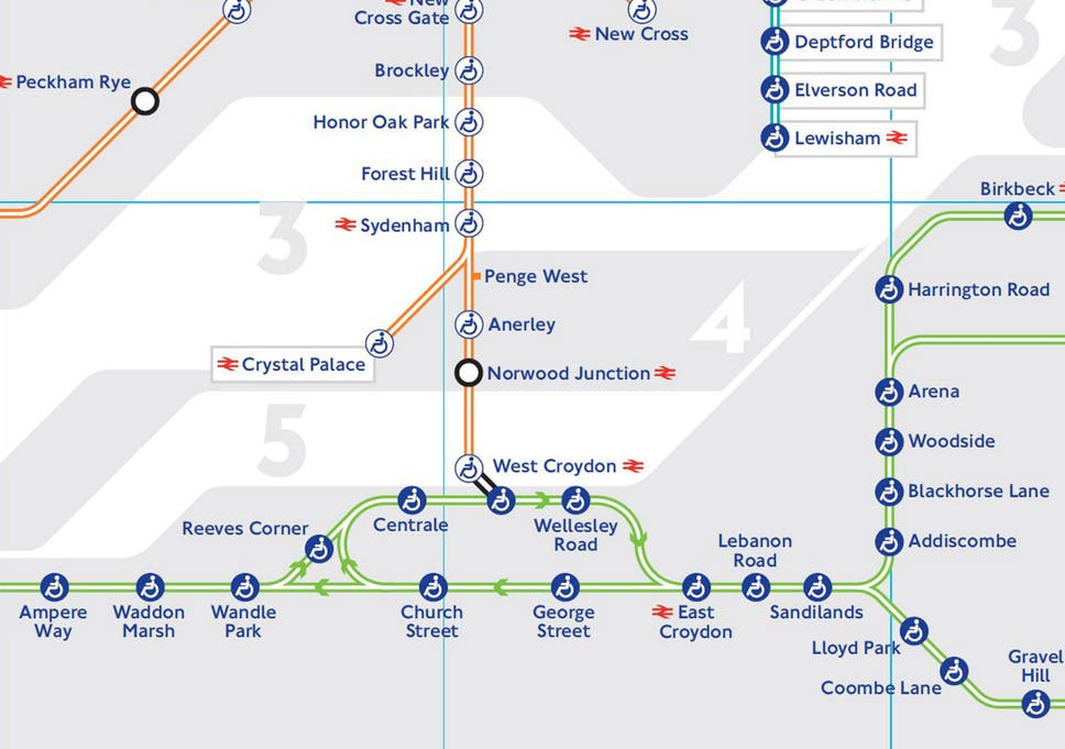 Transport For London Map.Tfl Releases New Tube Map With Tram Lines The Independent