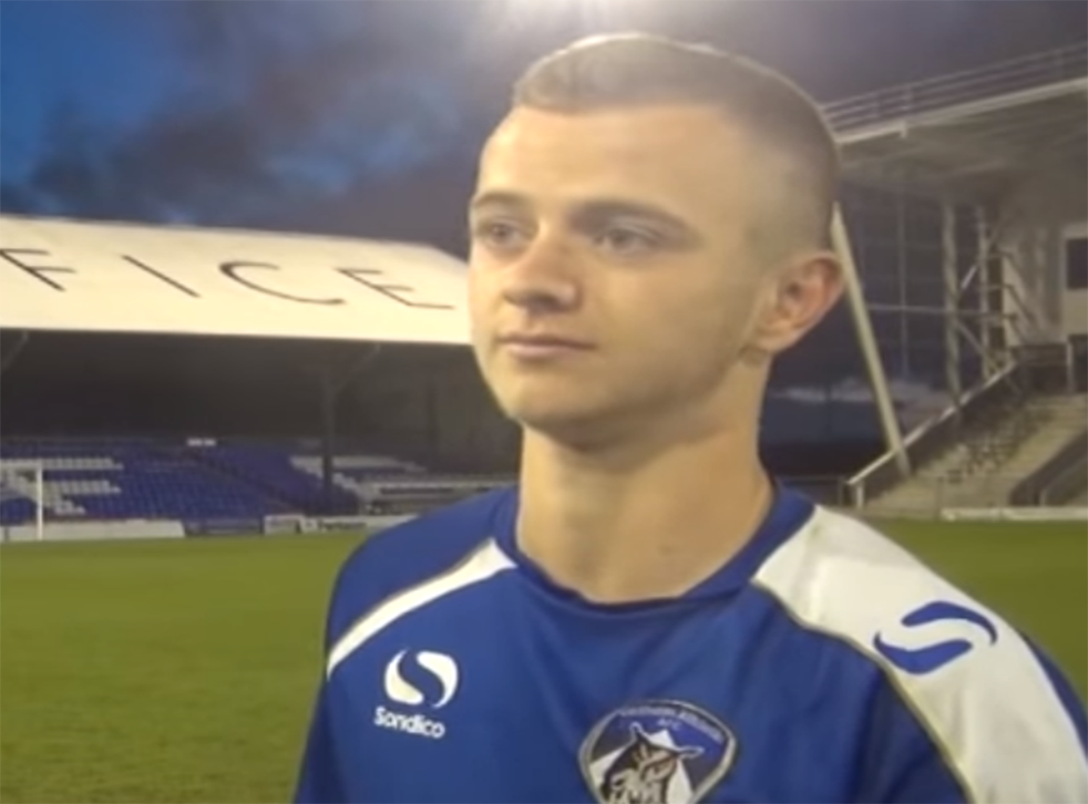 Jack Tuohy, 19, was on loan at Ramsbottom United when he was arrested in October 2015