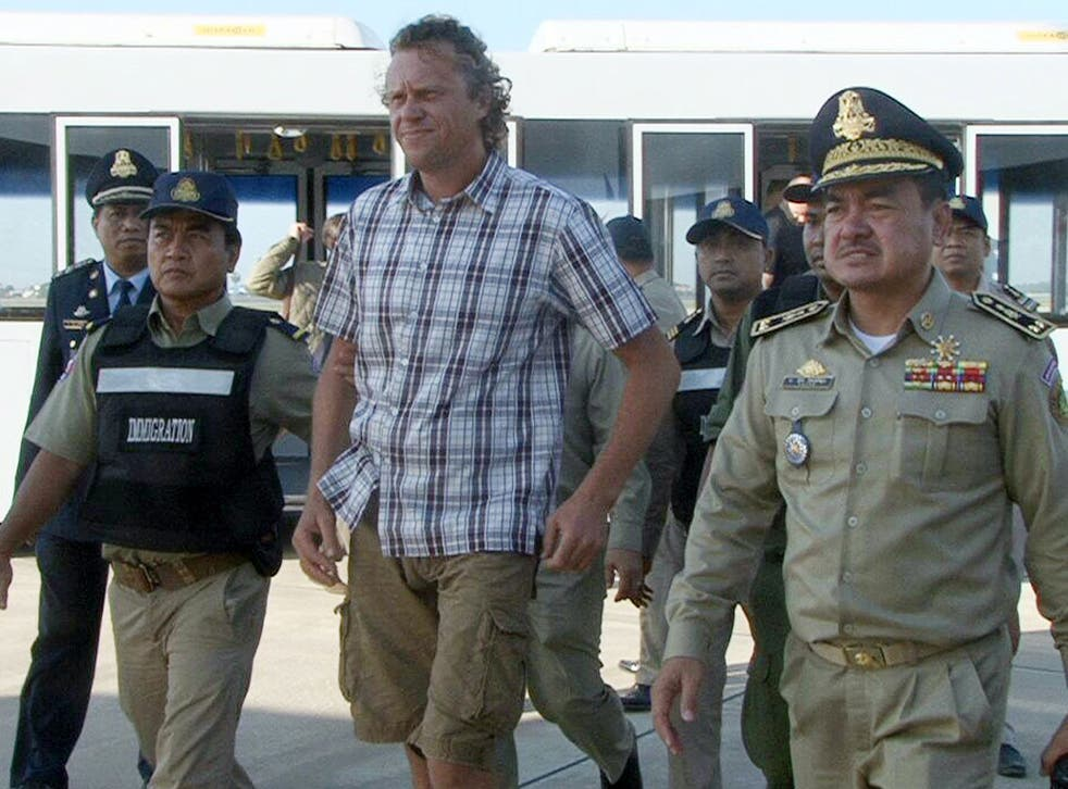 Sergei Polonwky is currently languishing in a Moscow jail, having been extradited from Cambodia
