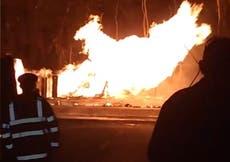 Massachusetts explosion: Teenager dead after multiple gas