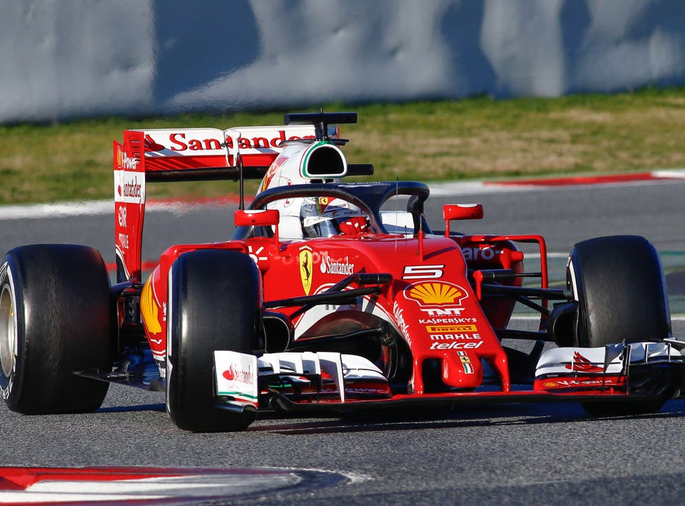 Both Kimi Raikkonen and Sebastian Vettel tested the Halo device in pre-season