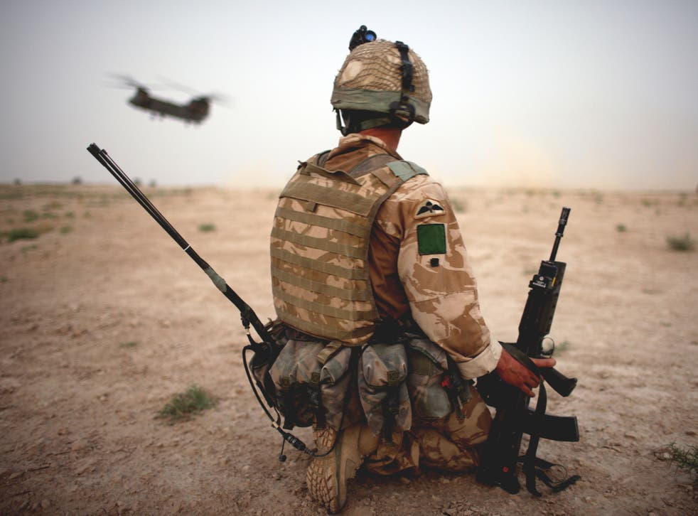 'Those who serve on the frontline will have our support when they come home'