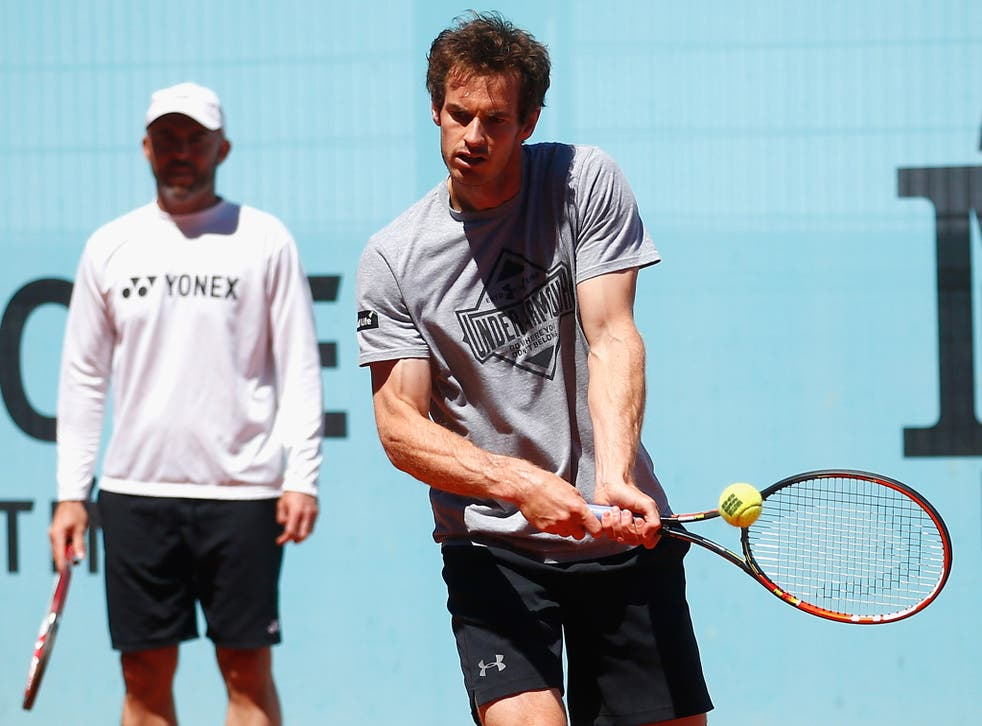 Jamie Delgado (left) is willing to become Andy Murray's full-time coach if offered the job
