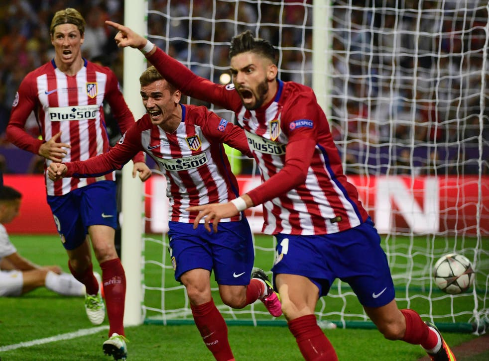 Carrasco scored in the 79th minute to force extra time