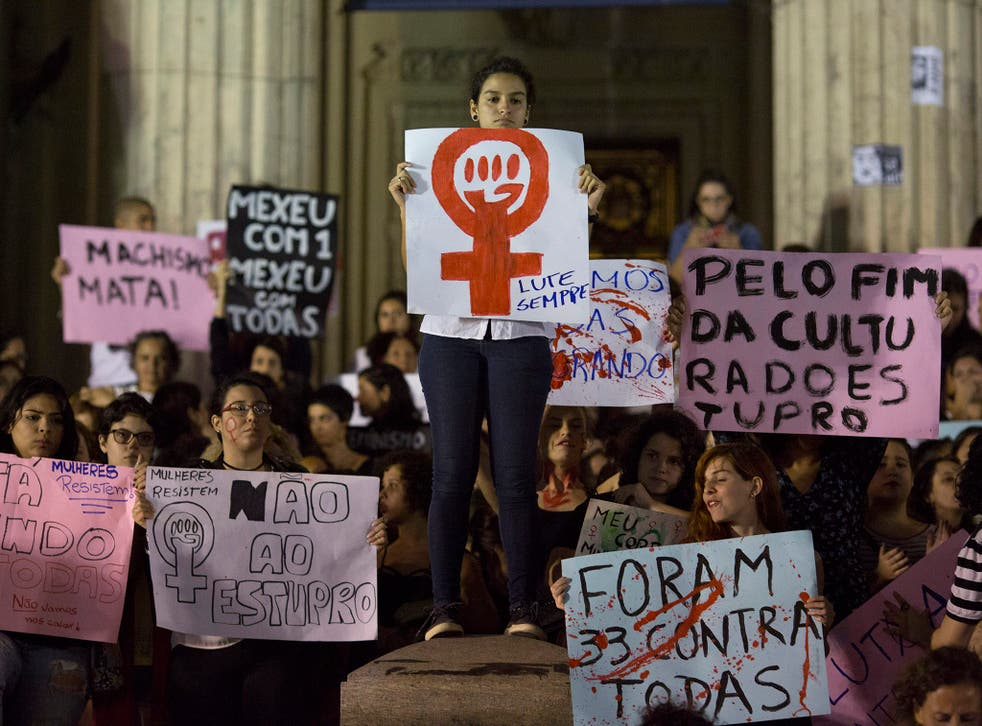 Protesters took to the streets all over the country demanding an end to sexual violence