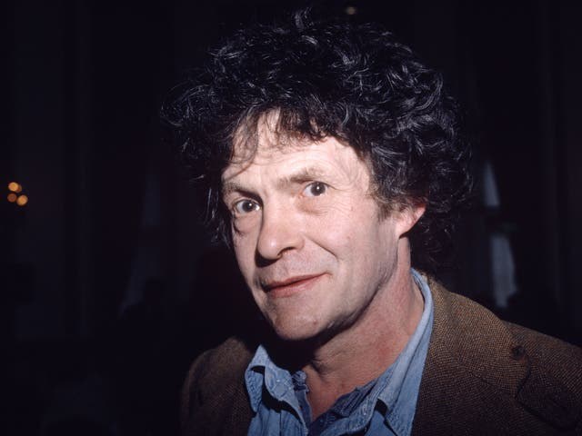 English poet, actor and dramatist Heathcote Williams