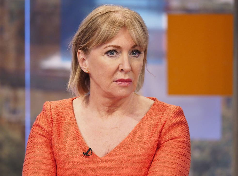 Nadine Dorries revealed she shares her computer passwords with all her staff - including interns