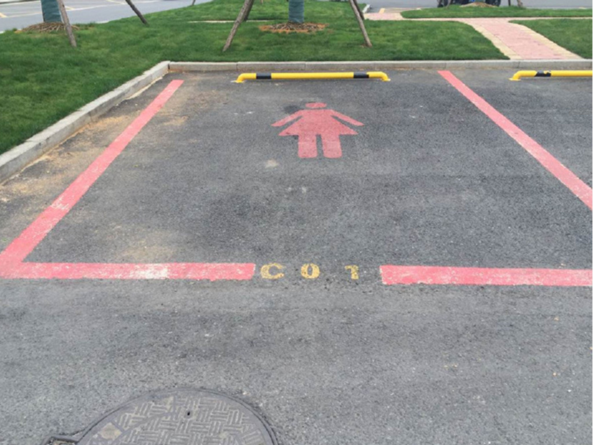 Extra-wide parking spaces 'for women who can't reverse' spark sexism row