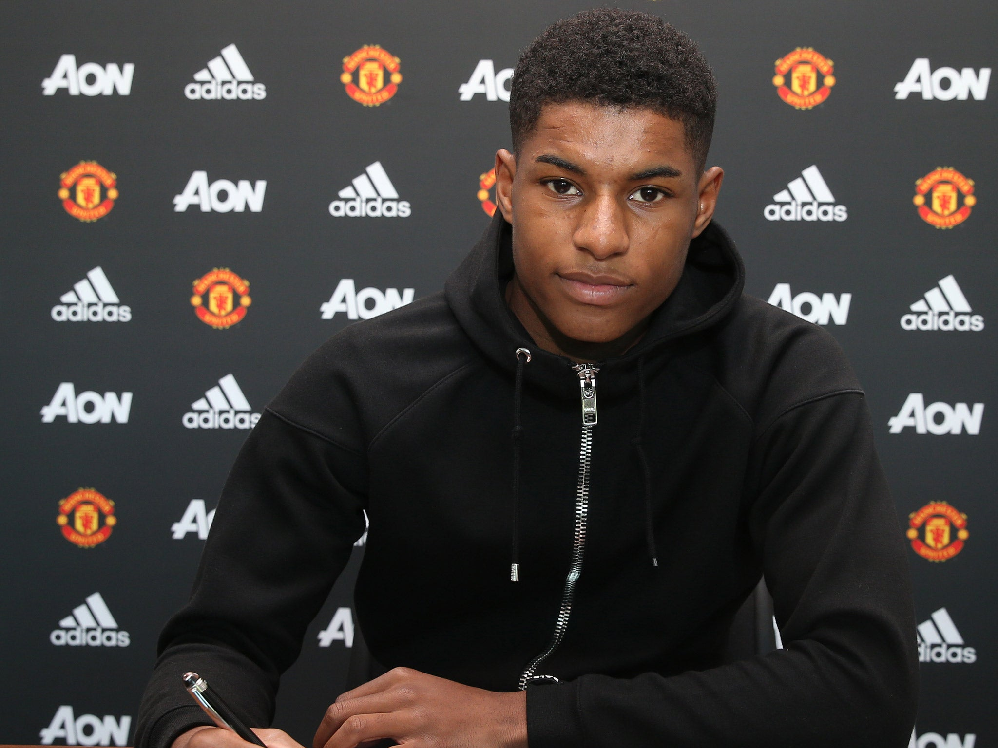 Manchester United News Marcus Rashford Signs New Long Term Contract Along With Cameron Borthwick Jackson The Independent The Independent