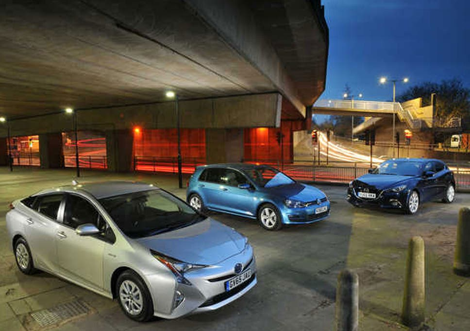 Toyota Prius vs Mazda 3 and VW Golf: How does the fourth