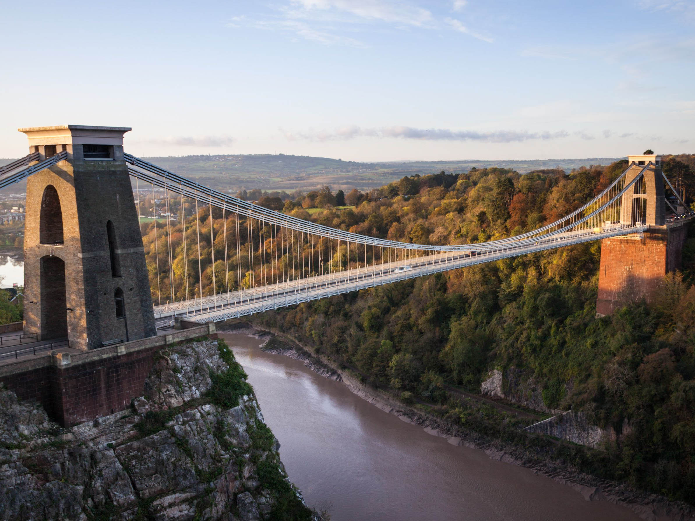 suspension bridges A greater utilization of advanced ndt methods can help spot potential problems in suspension bridges during the past 200 years, suspension bridges have been at the.