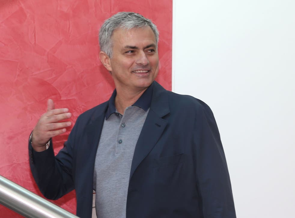 Mourinho was appointed on a three-year contract last week