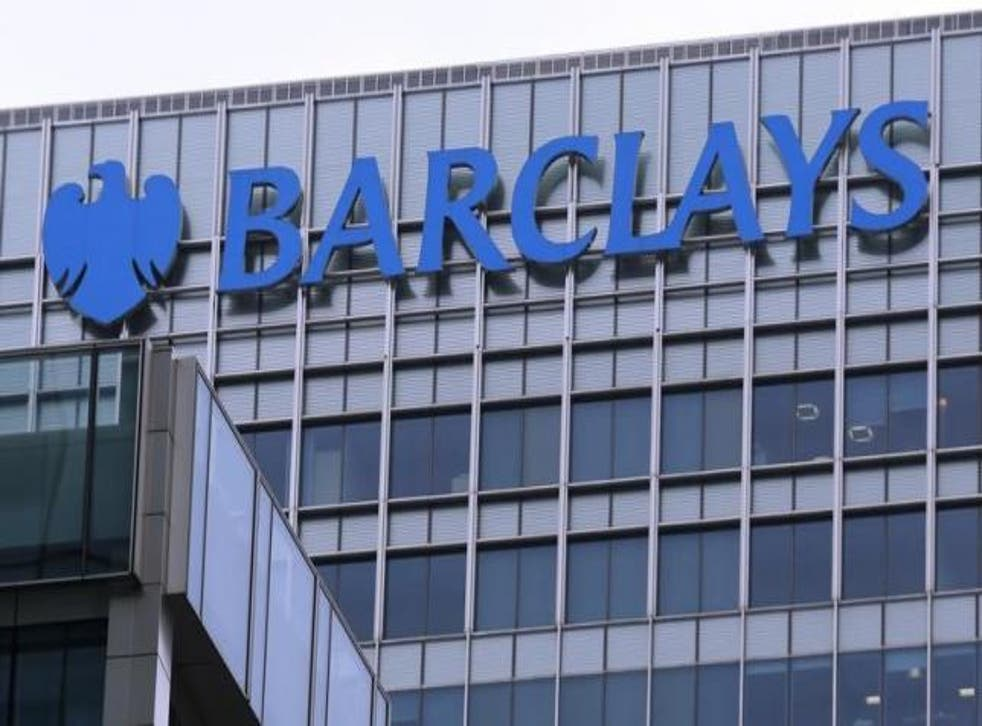 Barclays and RBS shares were offline for about five minutes