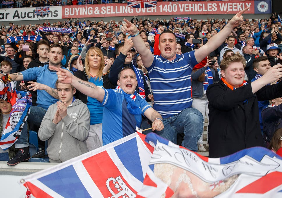 rangers lead campaign to ban the word hun as it s a derogatory