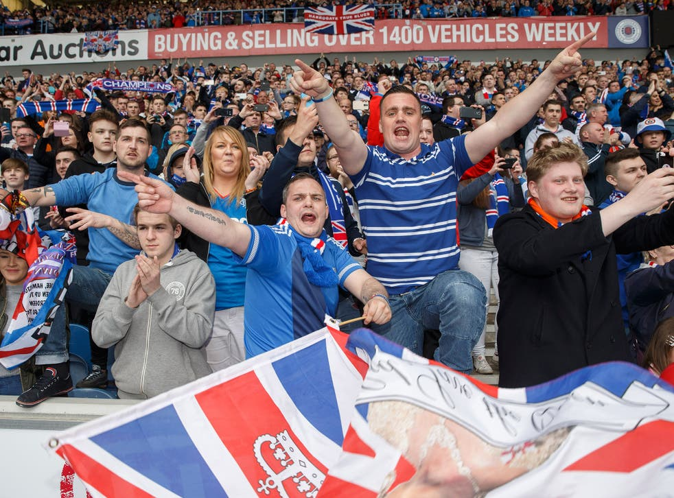 Rangers are leading a campaign to stop the word 'hun' being used as a derogatory slur towards Protestants