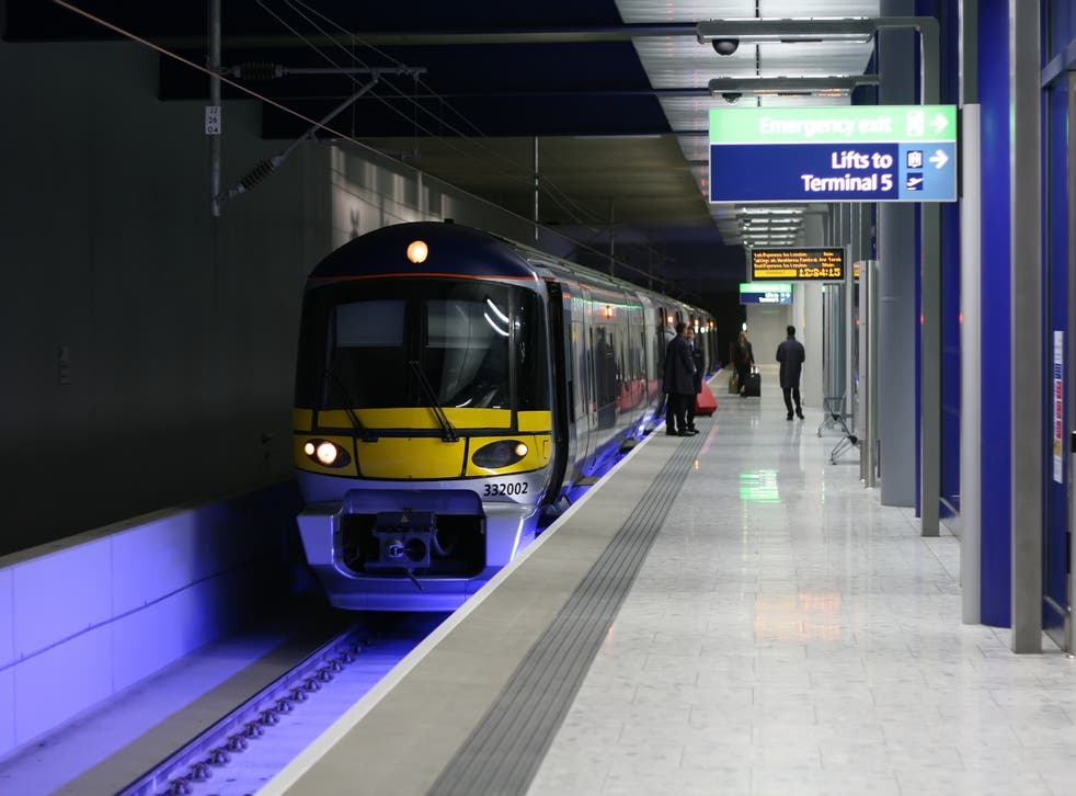 The Heathrow Express charges a premium, but there are more expensive airport links